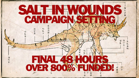 Salt in Wounds Tabletop Setting for 5th Edition & Pathfinder