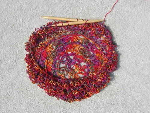 String bag in progress