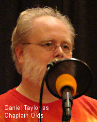 Daniel Taylor as Chaplain Olds