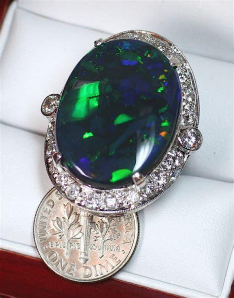 20.37ct Lightning Ridge Opal Ring ? £14,700   Australian