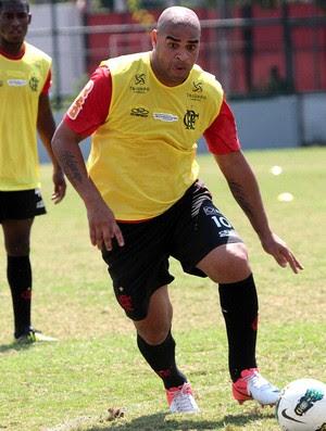 Adriano, Flamengo (Foto: Fernando Azevedo / Fla Imagem)