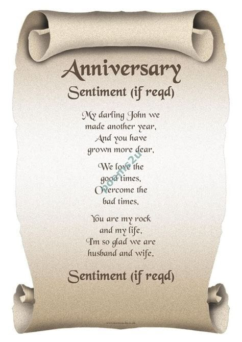 25th Wedding Anniversary Poems for My Husband 26 Best