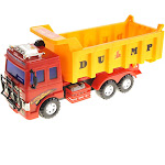 AZ Trading & Import CT11 Big Dump Truck Toy for Kids with Friction Power Heavy Duty