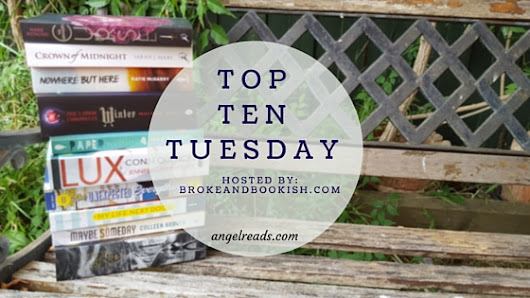 Top Ten Tuesday: Top Ten Songs that remind me of books. - Angel Reads