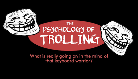 Why Do Trolls Troll: The Psychology of Trolling (infographic) | Science Lass