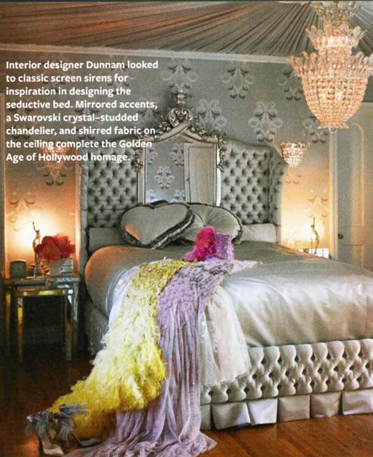 Dita Von Teese's Glam Retro Style at Home