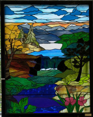 Down East Stained Glass Custom Stained Glass Pattern Showcase
