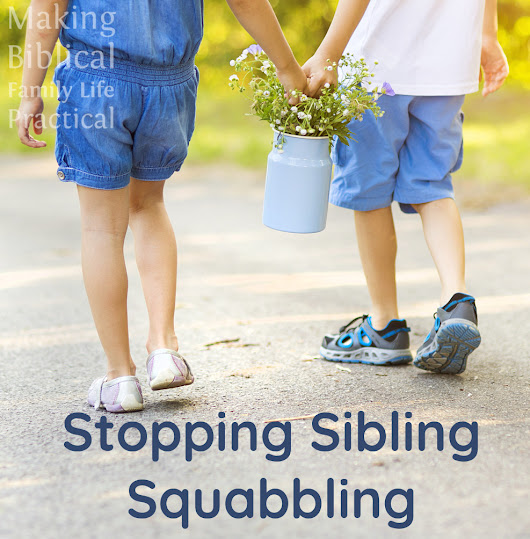 Stopping Sibling Squabbling - MBFLP 213 - Ultimate Homeschool Radio Network