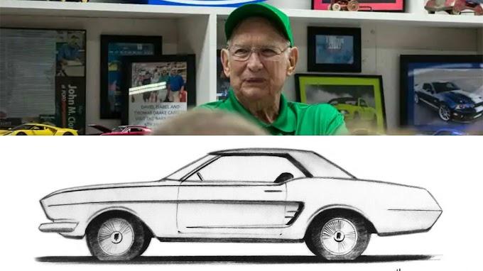 TREND ESSENCE: Original Ford Mustang designer Gale Halderman dead at 87