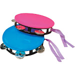 US Toy Neon Tambourine