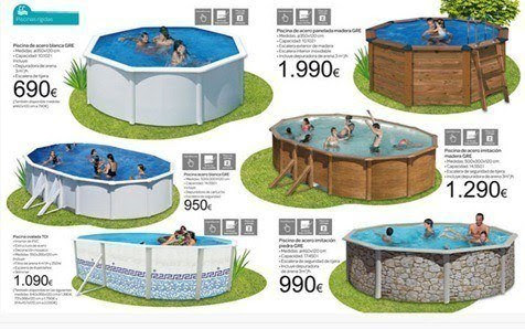 Alcampo piscinas desmontables for Piscinas desmontables baratas carrefour