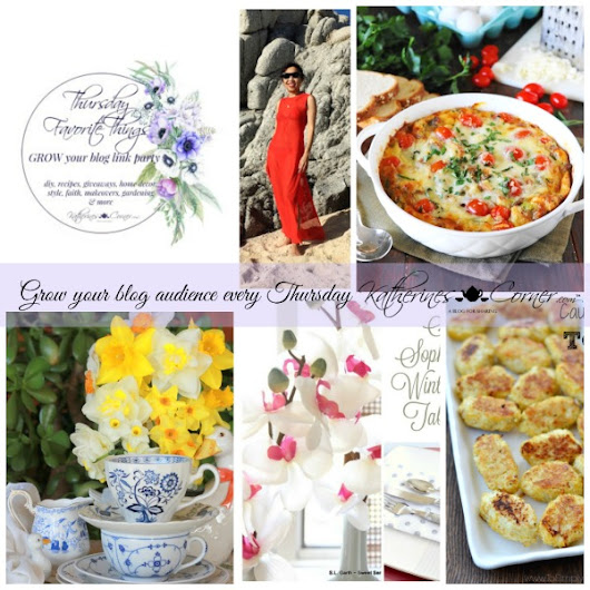 Grow Your Blog Thursday Favorite Things Blog Hop - Katherines Corner