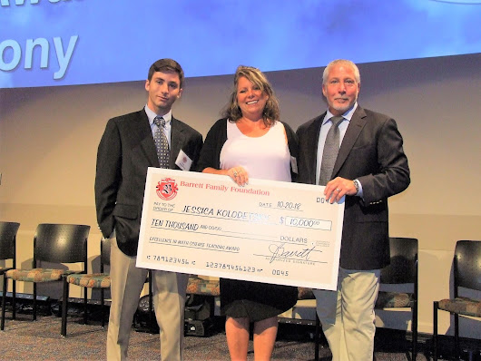 Three Farragut teachers awarded $10,000 Barrett Foundation Award - Admiral Farragut Academy