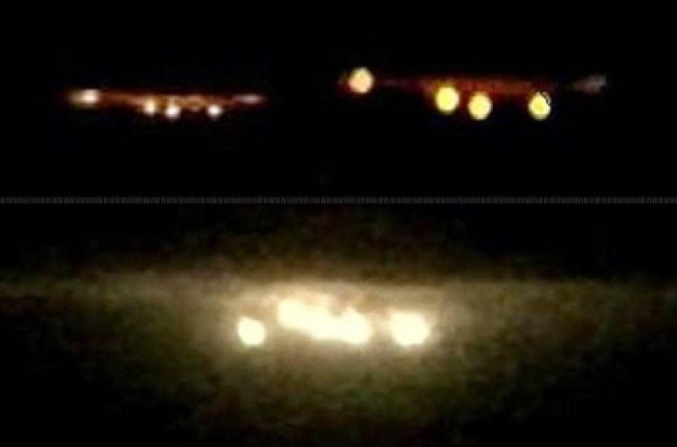 ABS-CBN TV News: OVNIs grabados sobre Pampanga, Filipinas