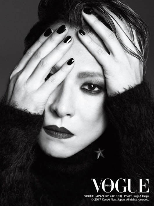 Yoshiki chosen for the cover of Vogue Japan's Rock Star issue | Selective Hearing