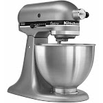 KitchenAid Classic Stand Mixer, Silver - 4.5 qt