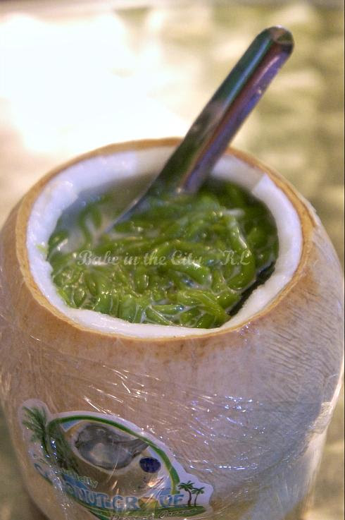 Coconut Jelly With Cendol (RM5.80) - 1