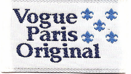 Vogue woven label