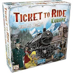 Ticket to Ride Game Europe Board Game