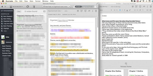 How I Wrote A 90,000 Word Book Using Evernote From Start To Finish