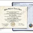 Fake College Diploma & Transcripts, Midwest Design - PhonyDiploma.com
