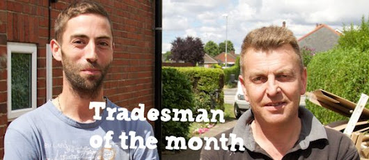 Nigel England and Neil Burrows | Tradesmen of the Month