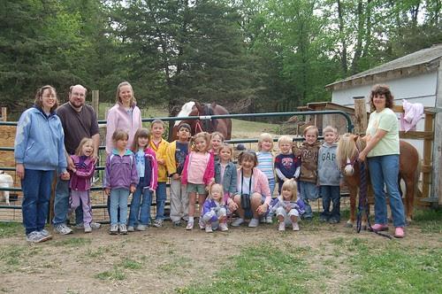 Preschool & Kindergarten class, 2007