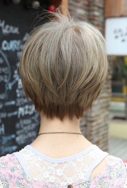 Neckline Haircut For Ladies : neckline, haircut, ladies, Pictures, Womens, Neckline, Haircuts, Undercut, Ponytail