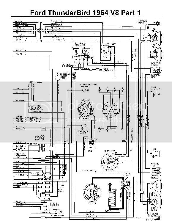 97 Thunderbird Engine Diagram