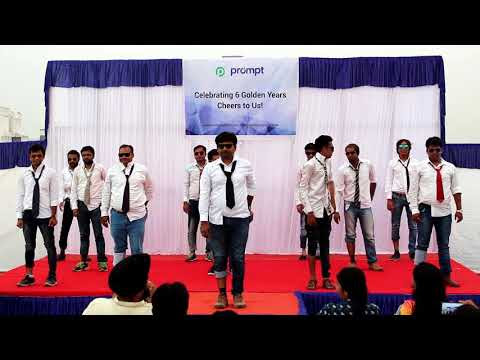 Funny Expressionless Dance By Prompt Boys on Prompt Softech 6th Anniversary