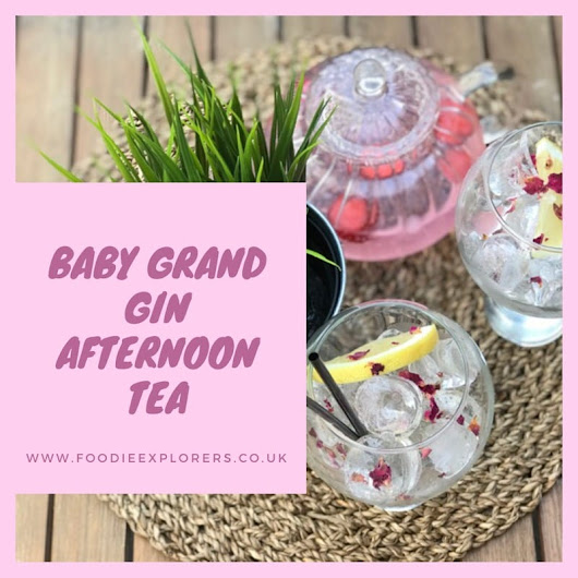 Food Review: Boë Gin afternoon tea at Baby Grand | Foodie Explorers