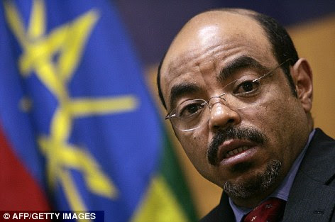 Ethiopian Prime Minister Meles Zenawi, pictured in 2005, is reportedly denying supplies to communities who don't support him