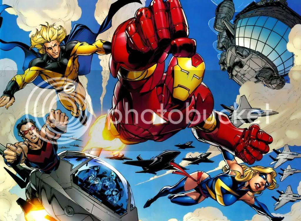 Ataque Simbionte: Poderosos Vingadores