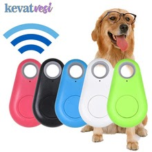 GPS  Anti lost Portable Bluetooth Tracker for Pet Dog Cat Alarm Trackers