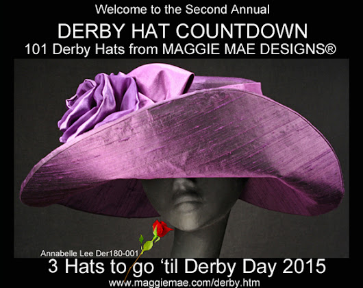 MAGGIE MAE DESIGNS® Derby Hat Countdown - 3 of 101