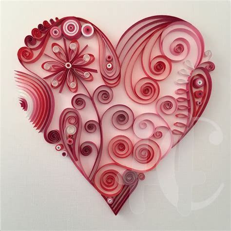366 best Quilling: Hearts images on Pinterest   Quilling
