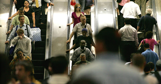 Why You Shouldn't Walk on Escalators - The New York Times
