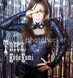 Kumi Koda's 'Trick' album cover [CD only version]
