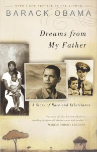 Pictured: Barack Obamas Autobiography, Dreams from My Father.