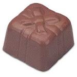 JB Prince Gift Box Design Chocolate Mold - 24 Forms