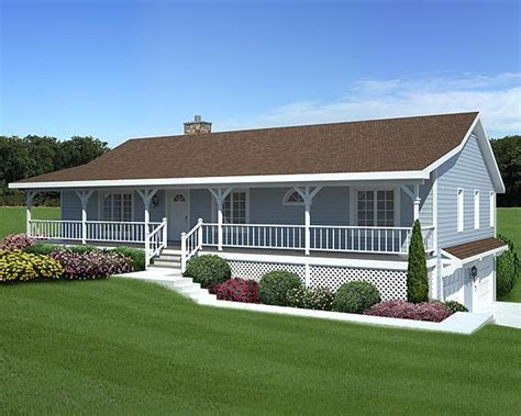 whittaker hill ranch home plan   house plans