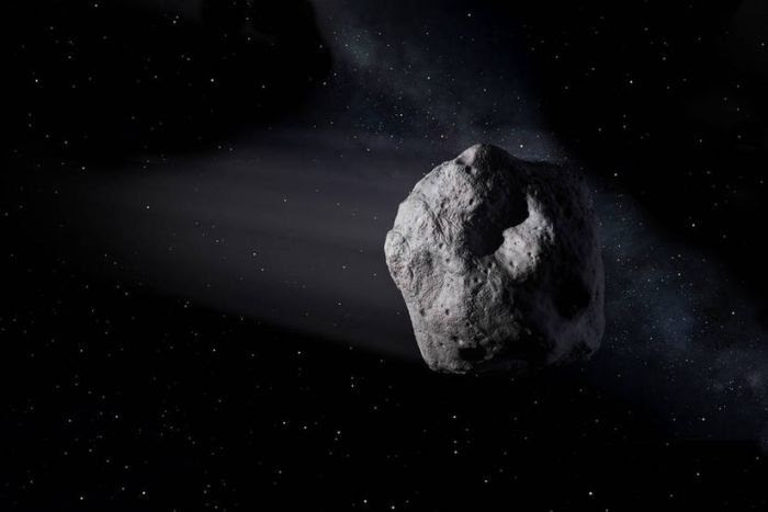 Artist's impression of a near-Earth object. (NASA/JPL-Caltech)