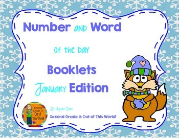 Word and Number of the Day: January Edition!