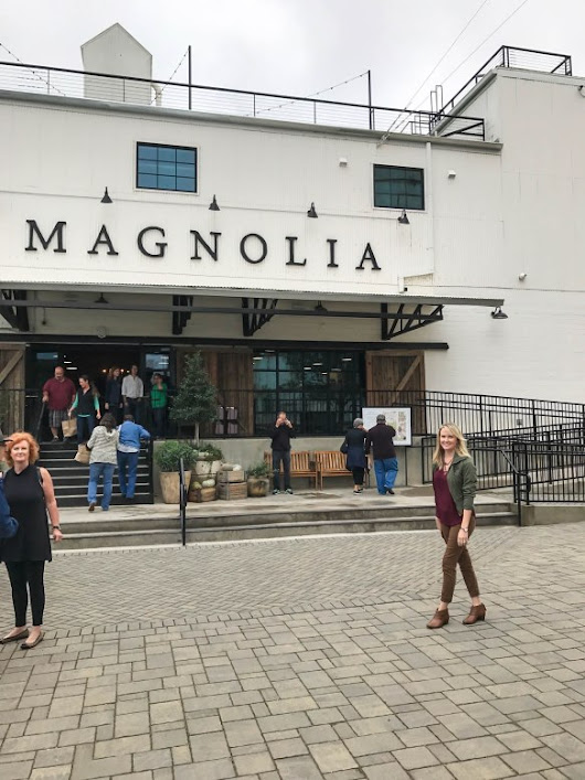 A Magnolia Moment and Waco Highlights