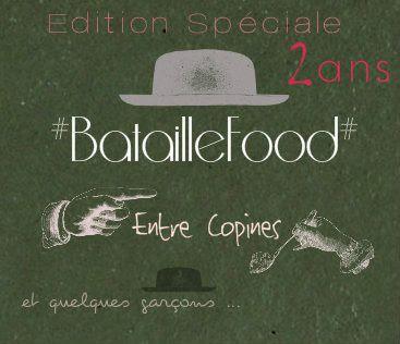 L'annonce du thème Bataille Food #24 :