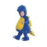 Belly Babies Stegosaurus Dinosaur Plush Toddler Costume L 2-4T