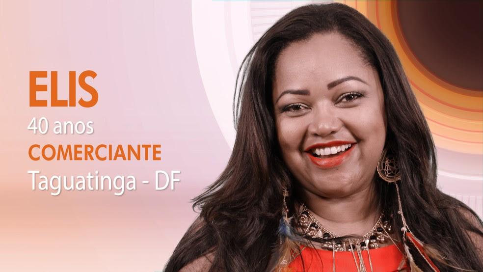 """Elis, décima segunda participante do """"BBB17"""" (Foto: Globo/Divulgação)"""