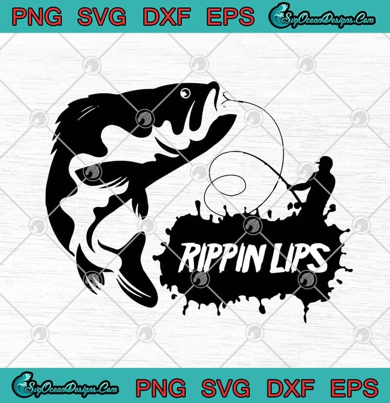 Download Fishing Rippin Lips Funny Bass Fishing Fishermen Svg Png Eps Dxf Fishing Lovers Svg Cricut File Silhouette Art Svg Png Eps Dxf Cricut Silhouette Designs Digital Download