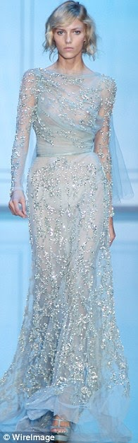 Hot couture! Elie Saab unveils new collection with gowns fit for the red carpet