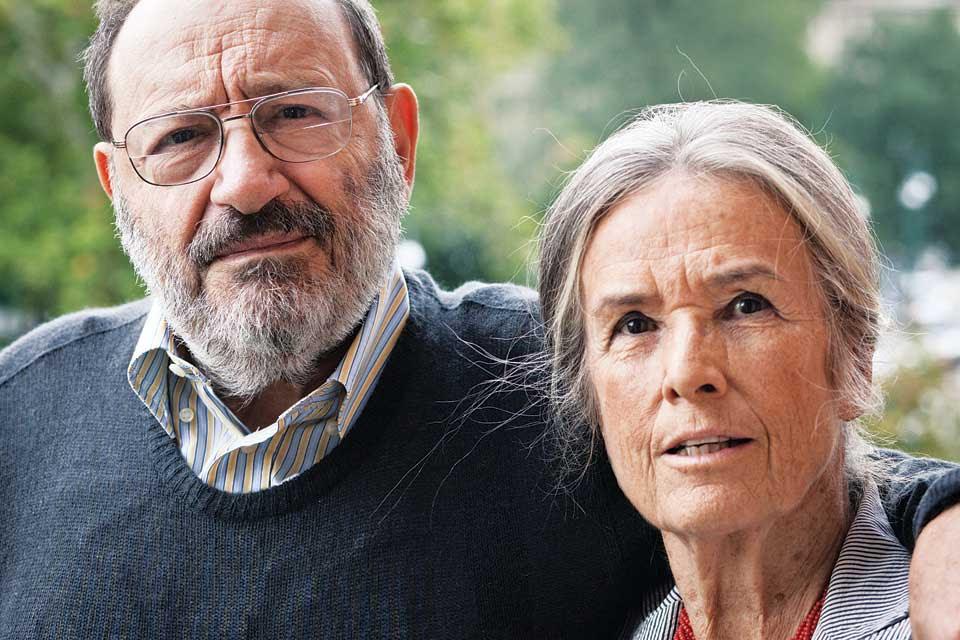 Amor verdadero. Con Renate Ramge, su mujer desde hace 50 años foto: LA NACION Daniel Merle